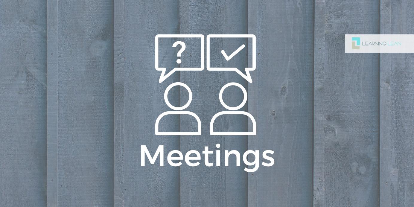 Effiziente Meetings – Potentialanalyse für ein ganzheitliches Verbesserungssystem